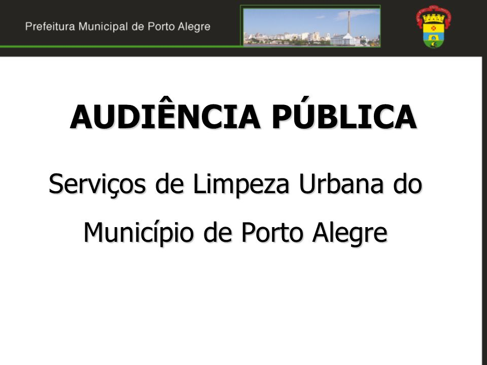 Serviços de Limpeza Urbana do Município de Porto Alegre
