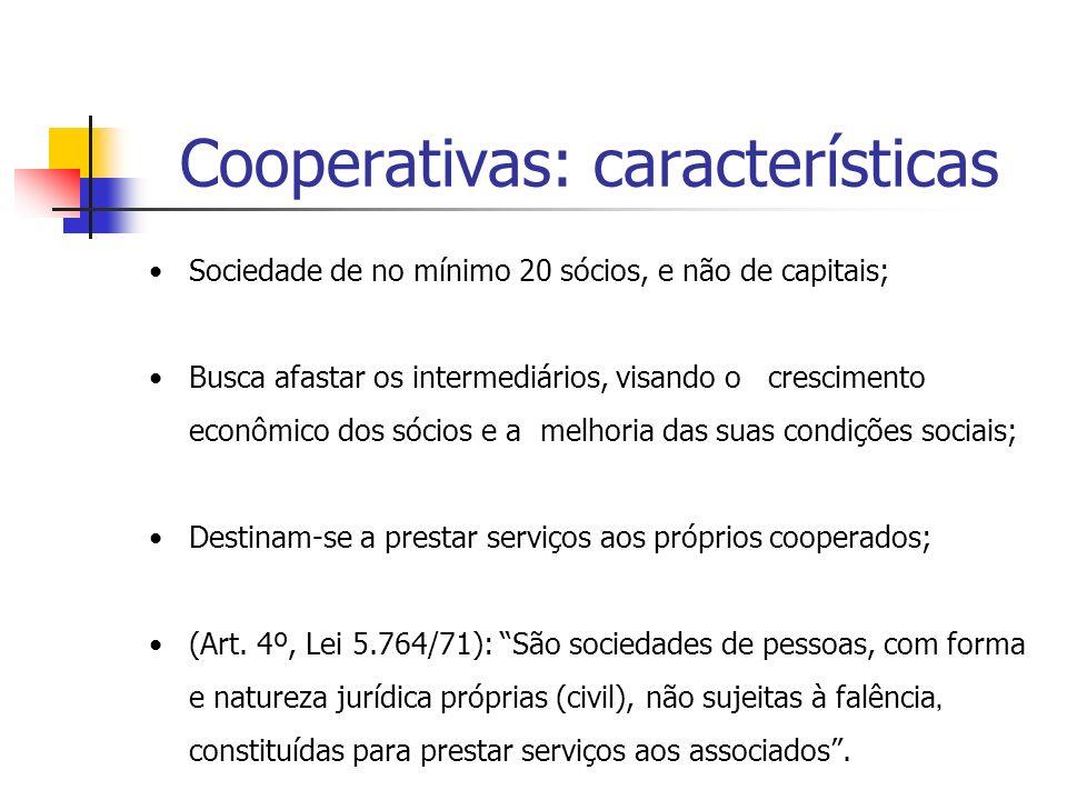 Cooperativas: características
