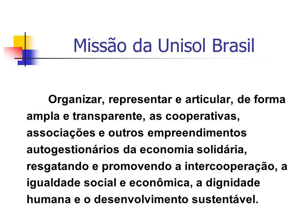 Missão da Unisol Brasil