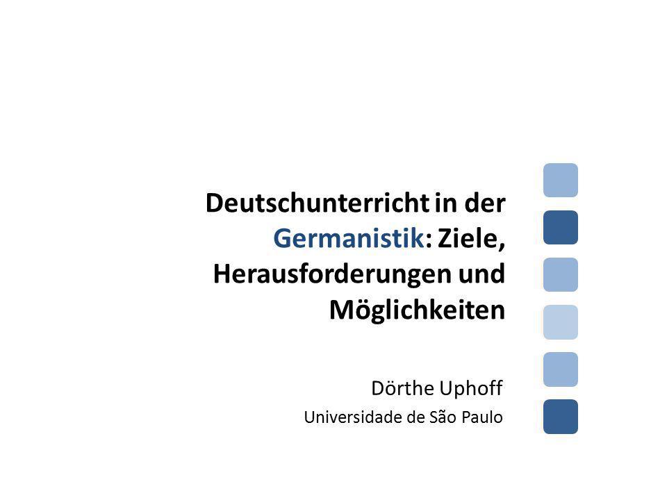 Dörthe Uphoff Universidade de São Paulo