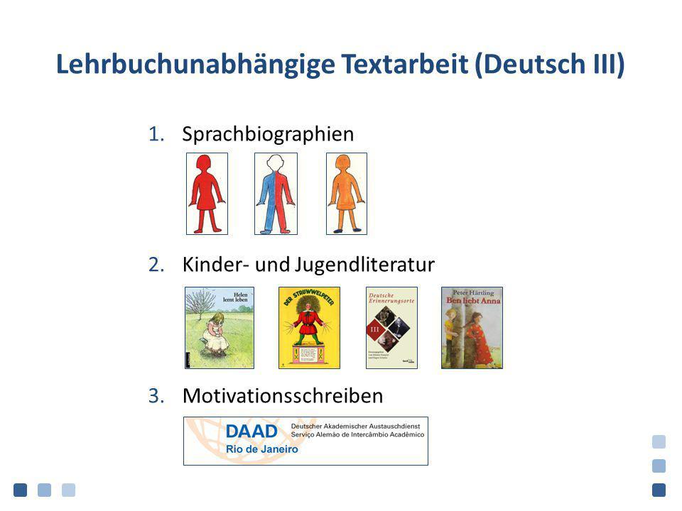 Lehrbuchunabhängige Textarbeit (Deutsch III)