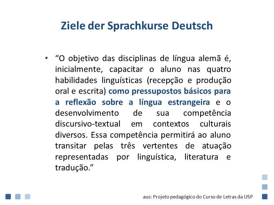 Ziele der Sprachkurse Deutsch