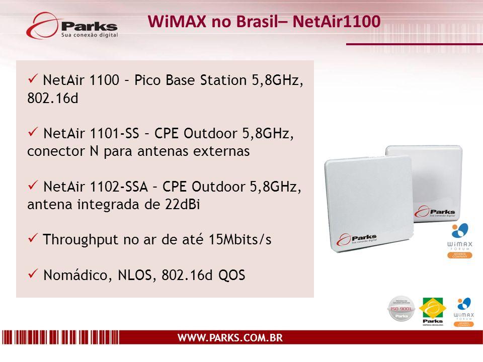 WiMAX no Brasil– NetAir1100