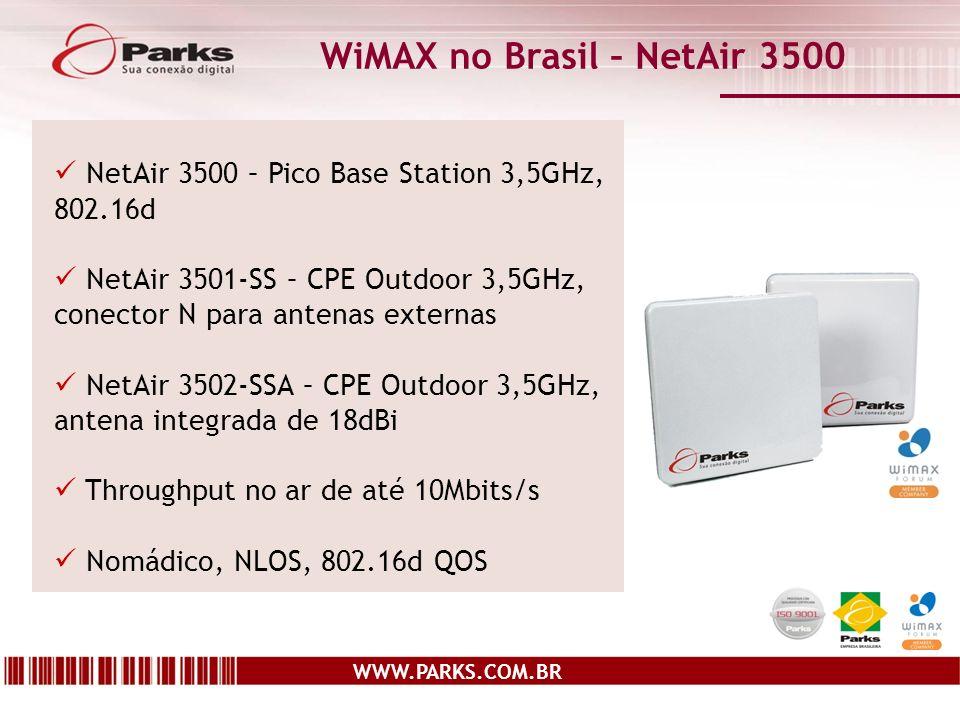 WiMAX no Brasil – NetAir 3500