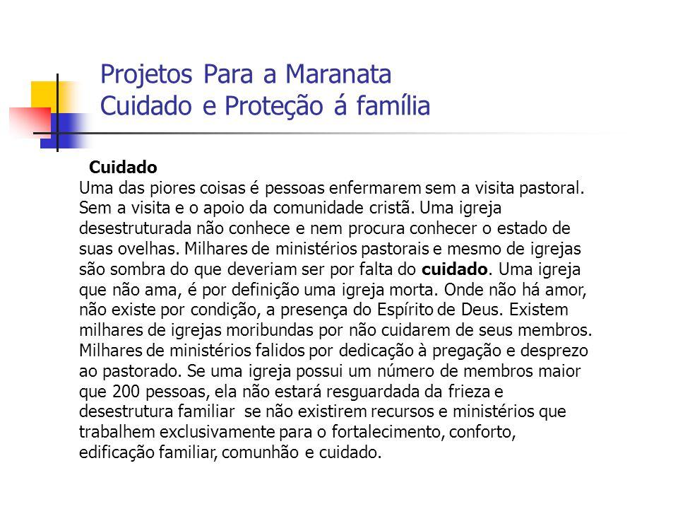 Projetos Para a Maranata Cuidado e Proteção á família