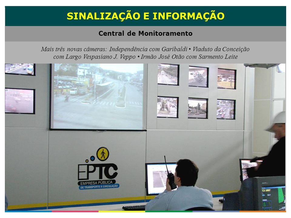 SINALIZAÇÃO E INFORMAÇÃO Central de Monitoramento