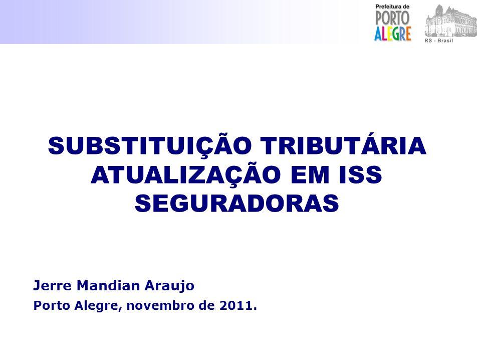 Jerre Mandian Araujo Porto Alegre, novembro de 2011.