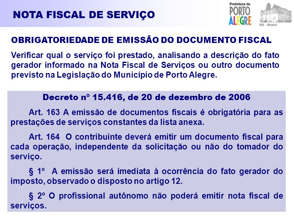 Decreto nº 15.416, de 20 de dezembro de 2006
