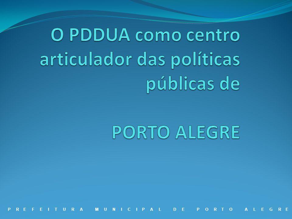 O PDDUA como centro articulador das políticas públicas de PORTO ALEGRE