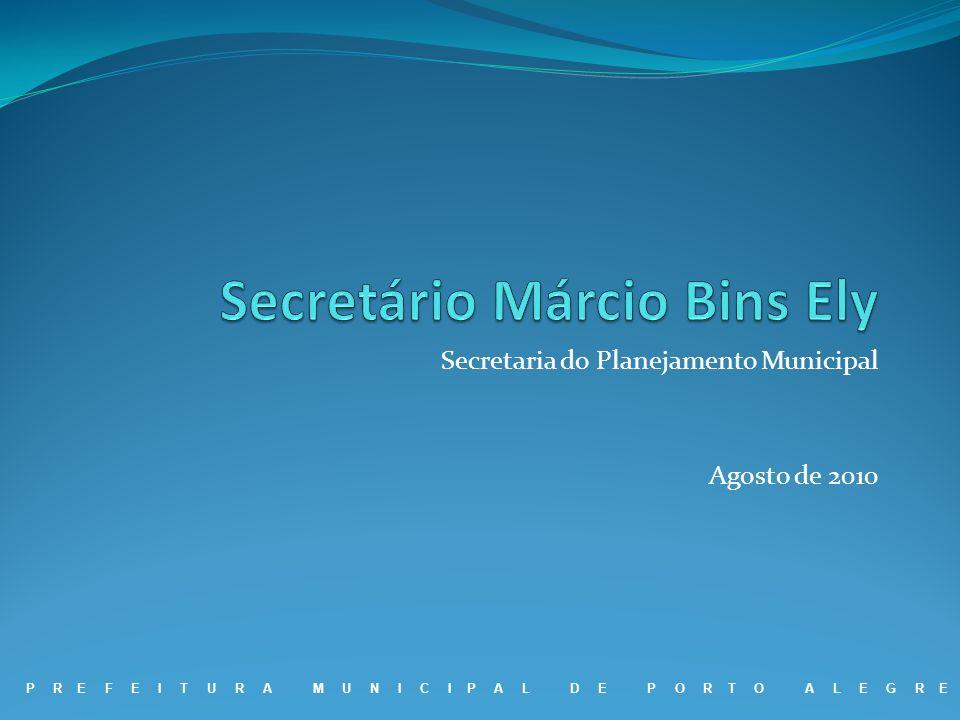 Secretário Márcio Bins Ely