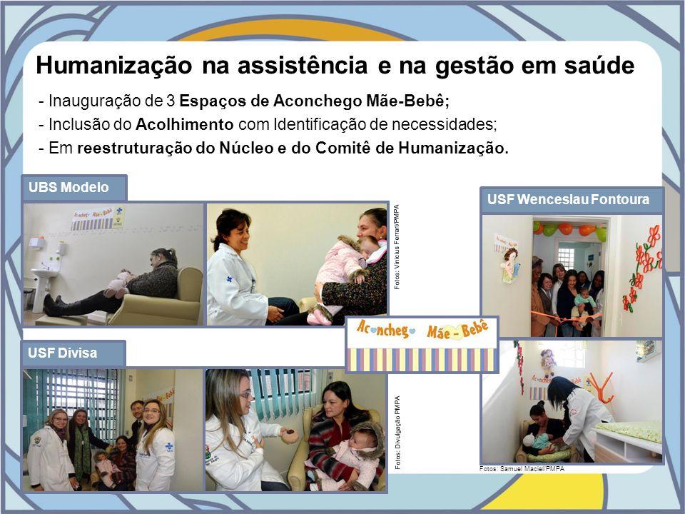 Humanização na assistência e na gestão em saúde