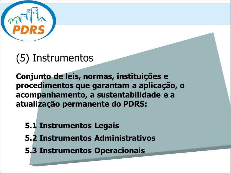 (5) Instrumentos