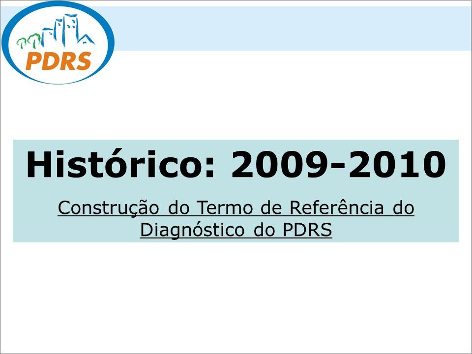 Construção do Termo de Referência do Diagnóstico do PDRS