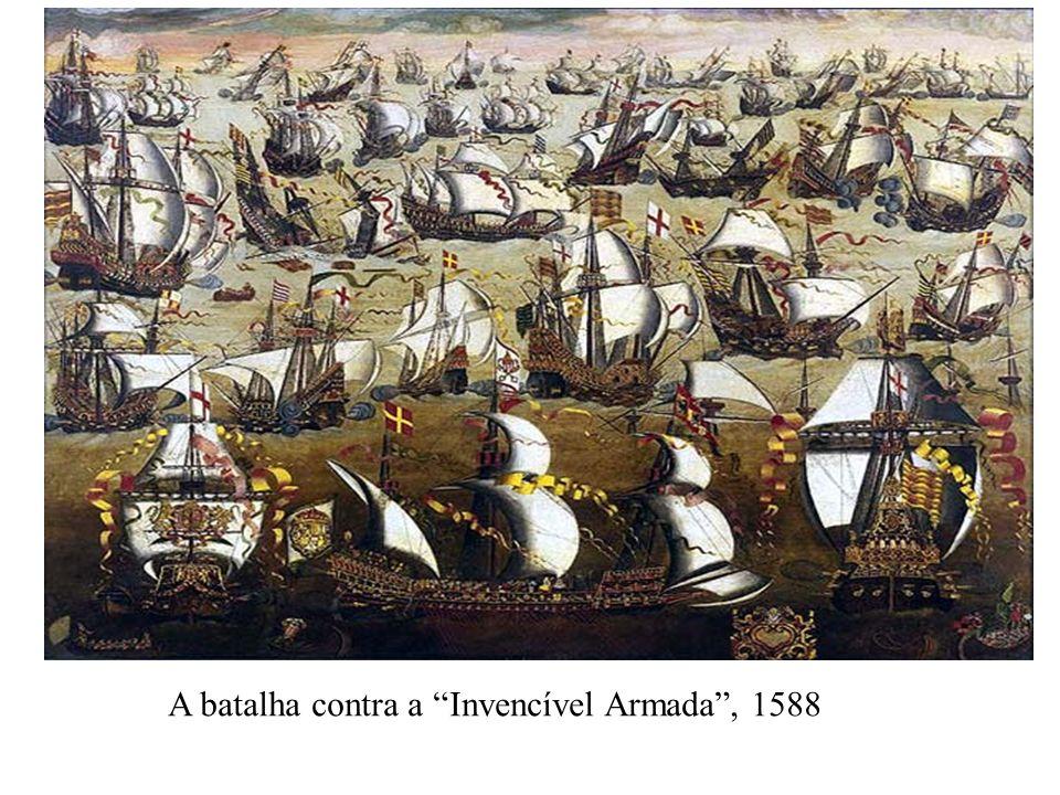 A batalha contra a Invencível Armada , 1588