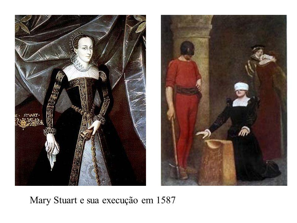 Mary Stuart e sua execução em 1587