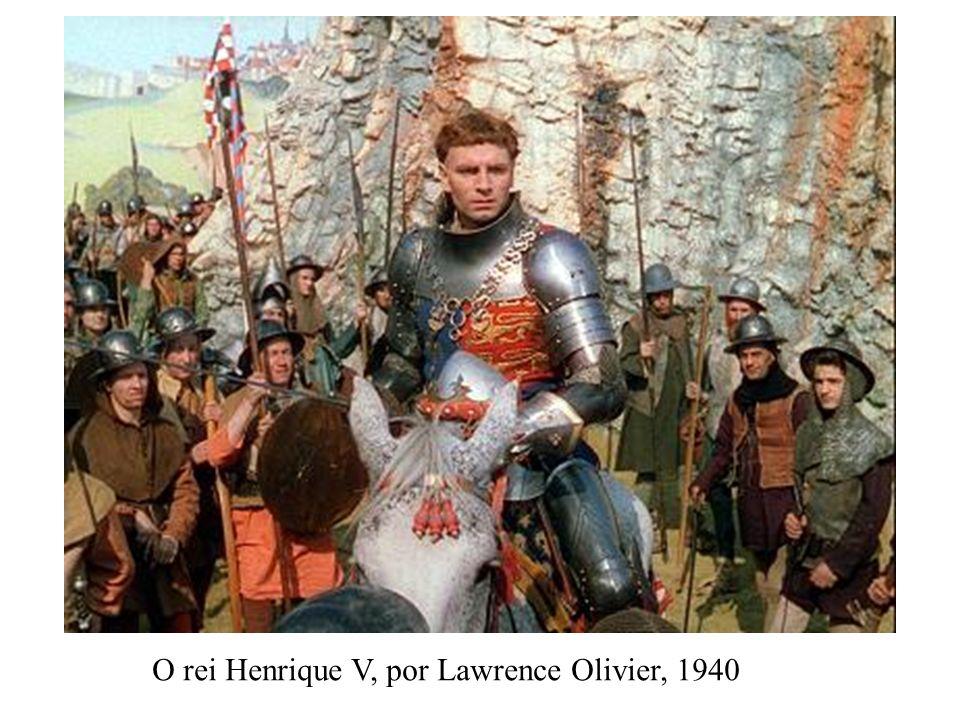 O rei Henrique V, por Lawrence Olivier, 1940