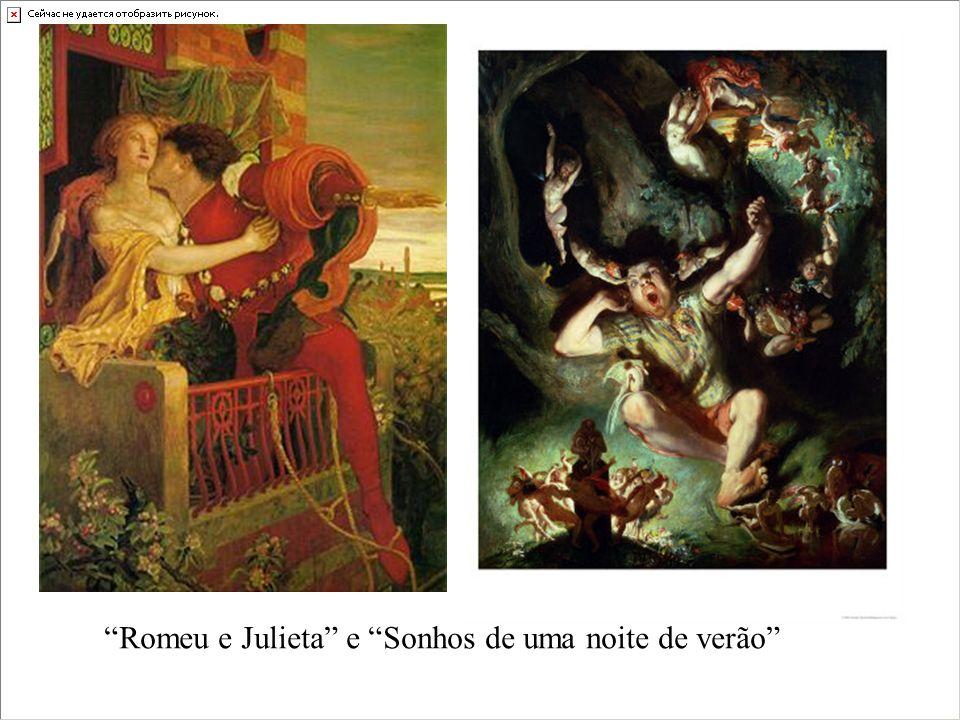 Romeu e Julieta e Sonhos de uma noite de verão