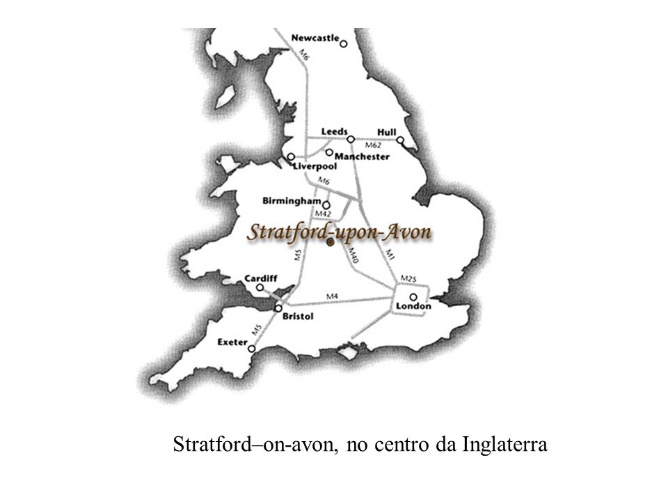 Stratford–on-avon, no centro da Inglaterra