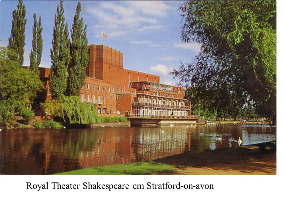 Royal Theater Shakespeare em Stratford-on-avon