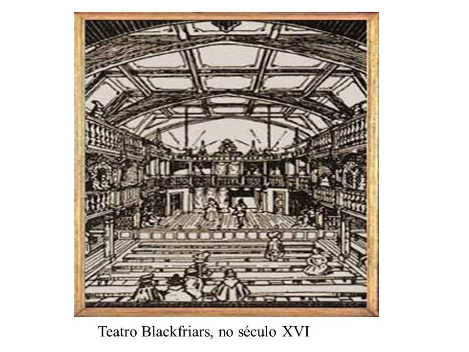 Teatro Blackfriars, no século XVI