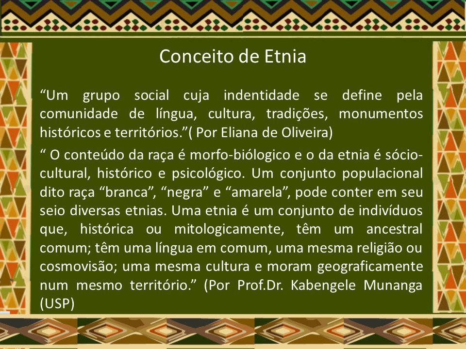 Conceito de Etnia
