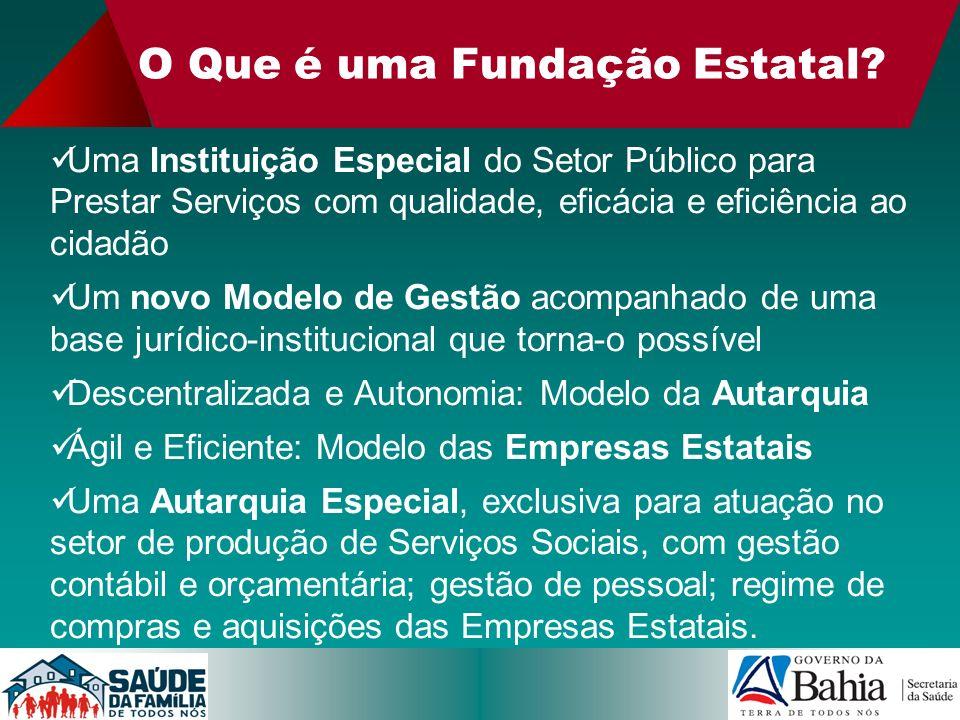 O Que é uma Fundação Estatal