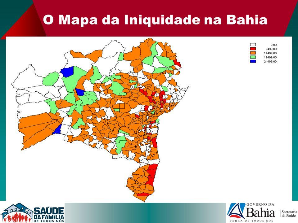 O Mapa da Iniquidade na Bahia