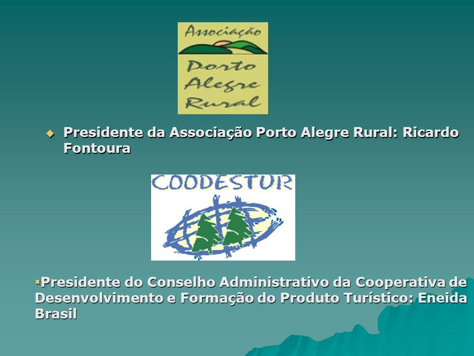 Presidente da Associação Porto Alegre Rural: Ricardo Fontoura