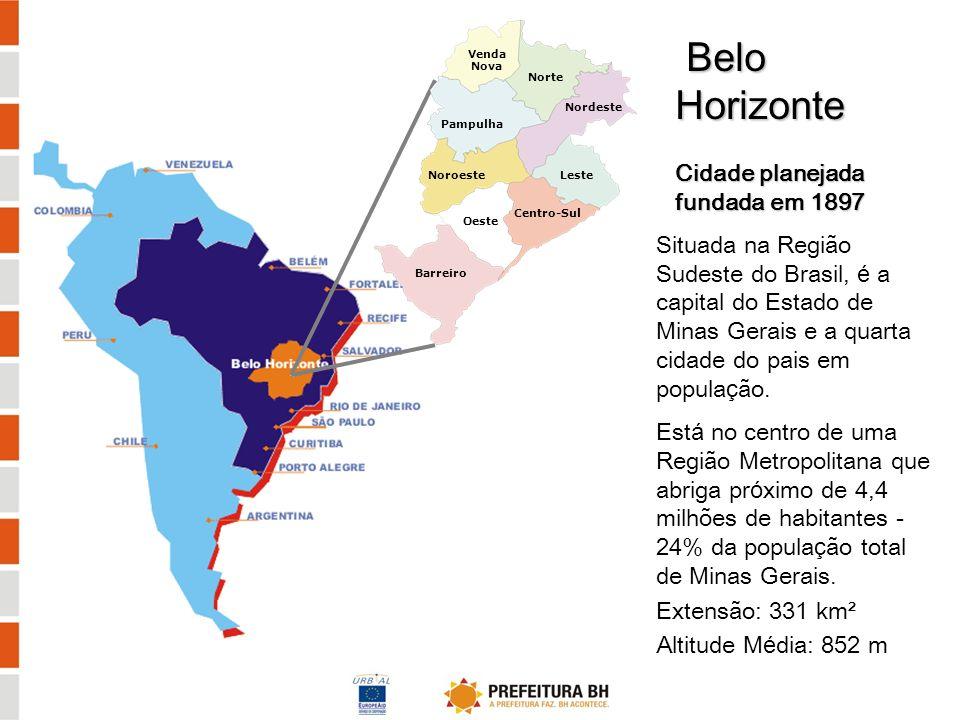 Belo Horizonte Cidade planejada fundada em 1897