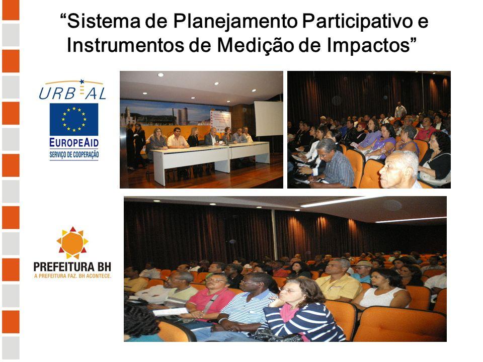 Sistema de Planejamento Participativo e Instrumentos de Medição de Impactos