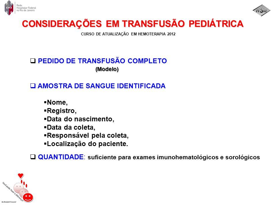 PEDIDO DE TRANSFUSÃO COMPLETO