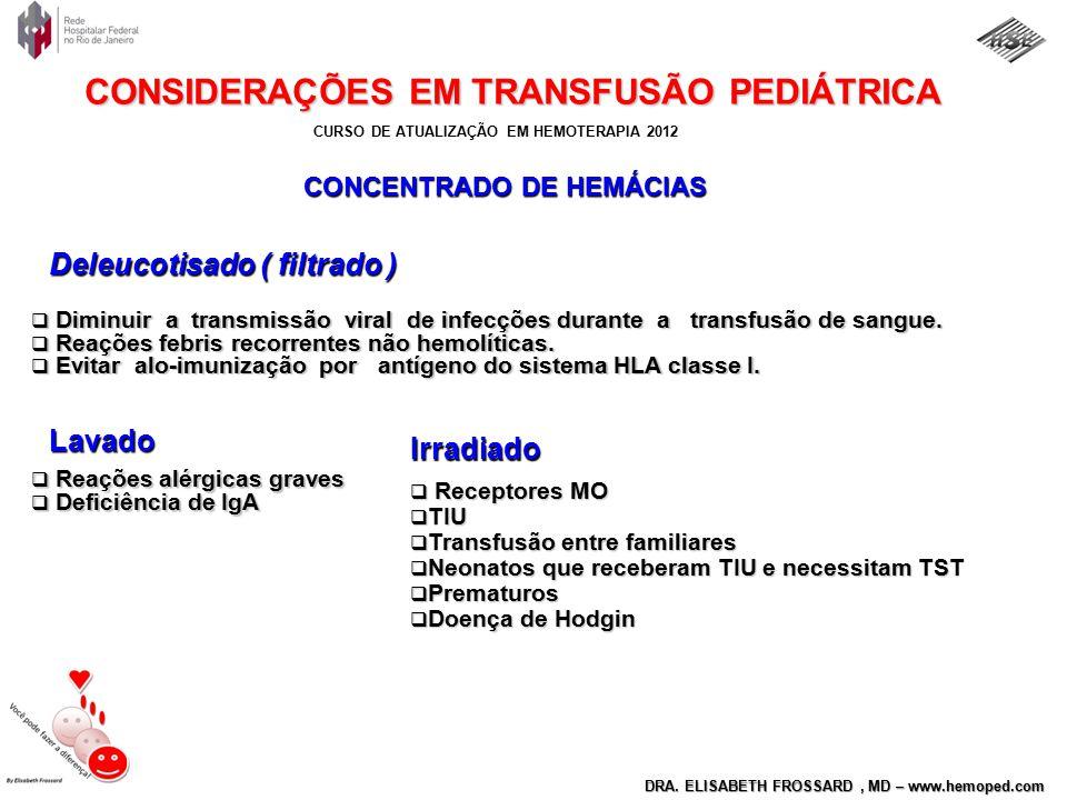 CONCENTRADO DE HEMÁCIAS