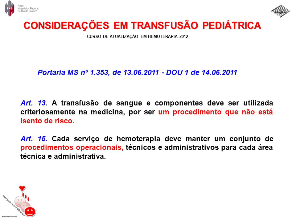 Portaria MS nº 1.353, de 13.06.2011 - DOU 1 de 14.06.2011