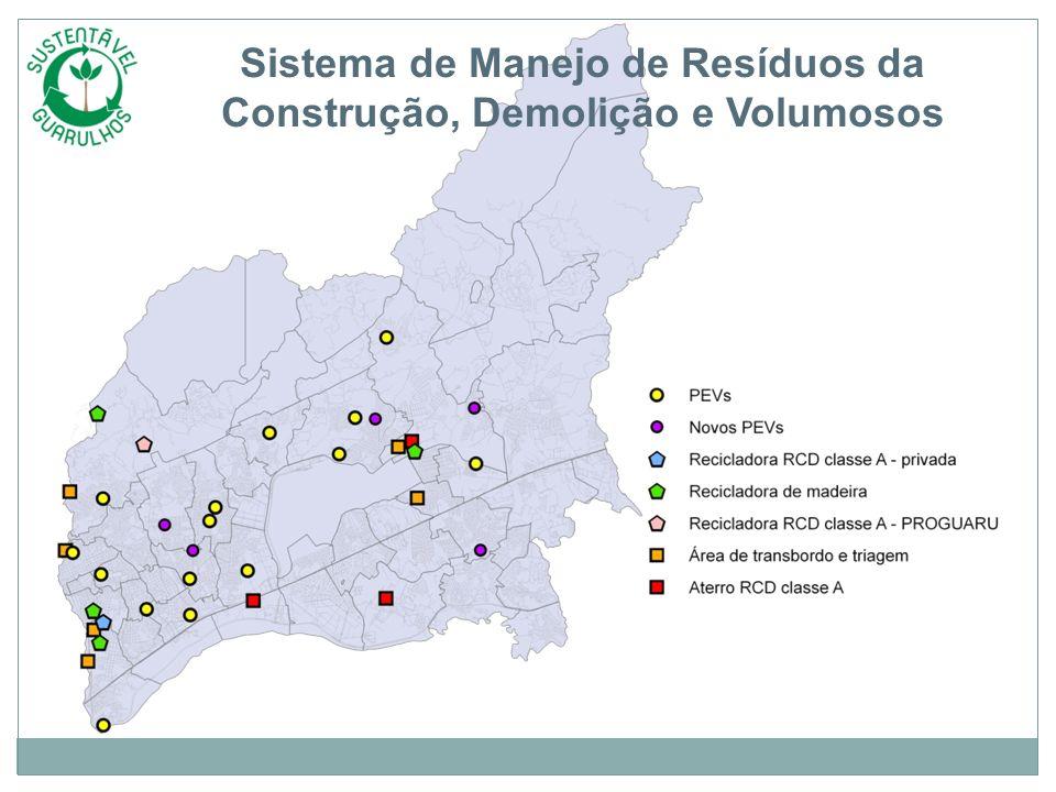 Sistema de Manejo de Resíduos da Construção, Demolição e Volumosos