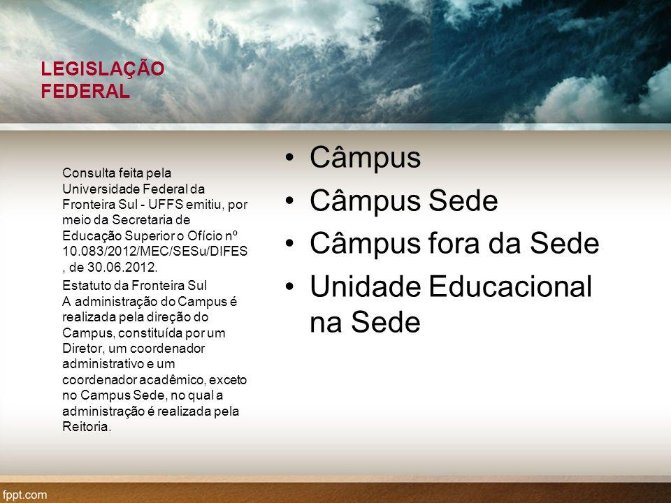 Unidade Educacional na Sede