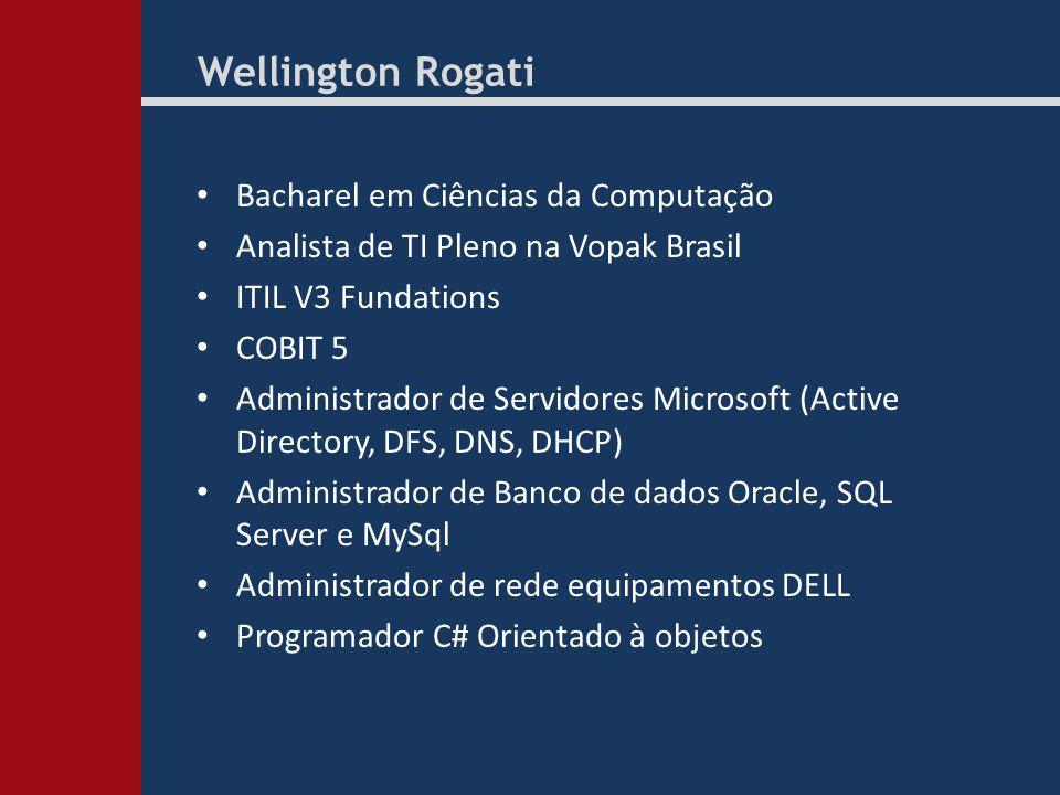 Wellington Rogati Bacharel em Ciências da Computação