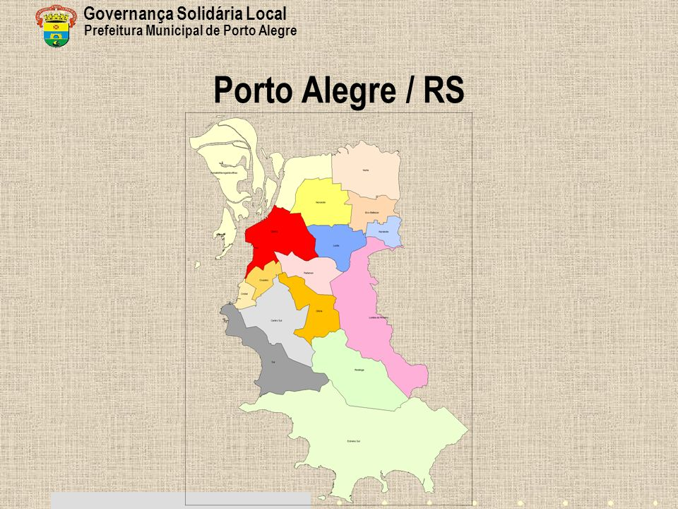 Porto Alegre / RS Governança Solidária Local