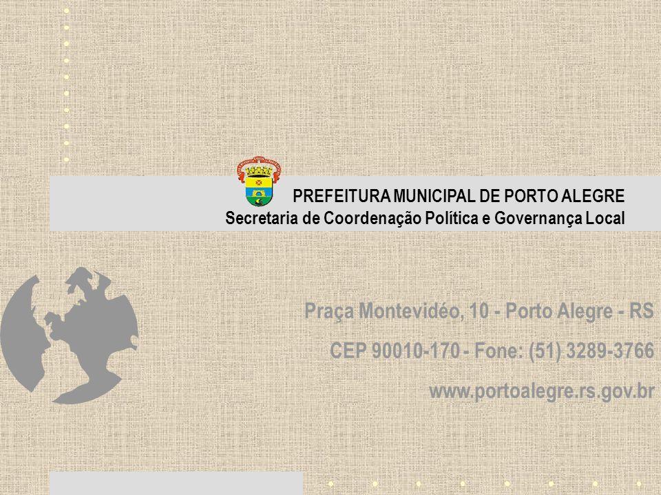 Praça Montevidéo, 10 - Porto Alegre - RS