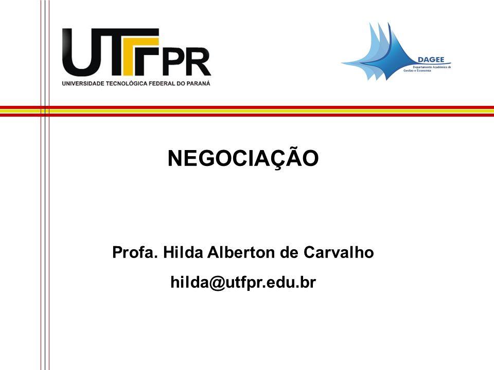 Profa. Hilda Alberton de Carvalho