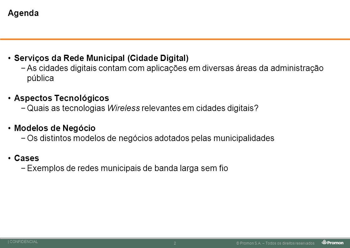 Serviços da Rede Municipal (Cidade Digital)