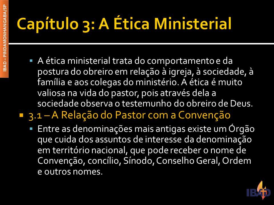 Capítulo 3: A Ética Ministerial