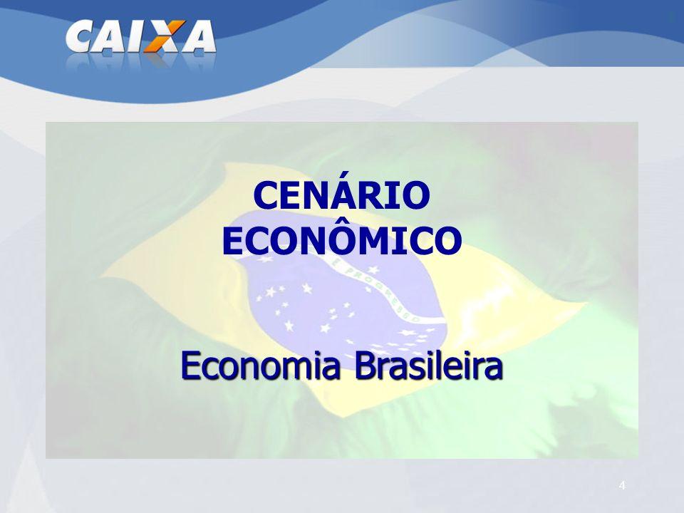 CENÁRIO ECONÔMICO Economia Brasileira 4