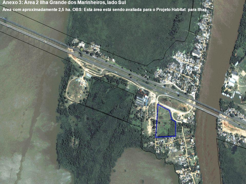 Anexo 3: Área 2 Ilha Grande dos Marinheiros, lado Sul
