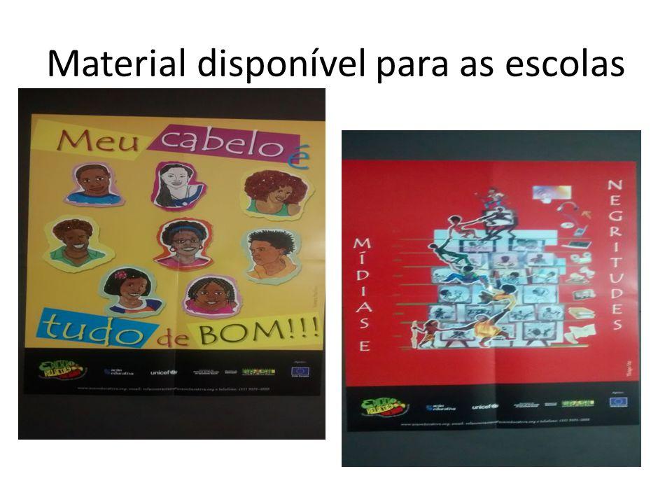 Material disponível para as escolas