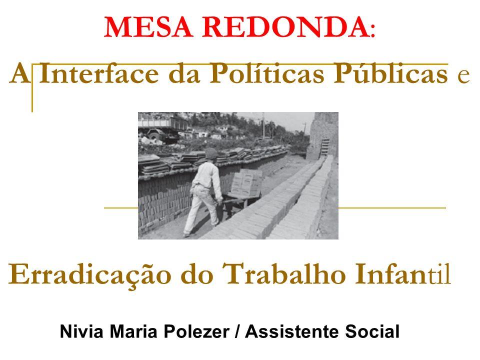 MESA REDONDA: A Interface da Políticas Públicas e