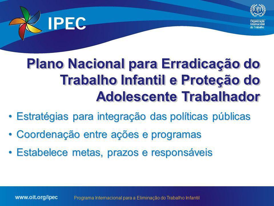 Plano Nacional para Erradicação do Trabalho Infantil e Proteção do Adolescente Trabalhador