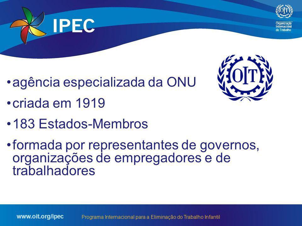 agência especializada da ONU