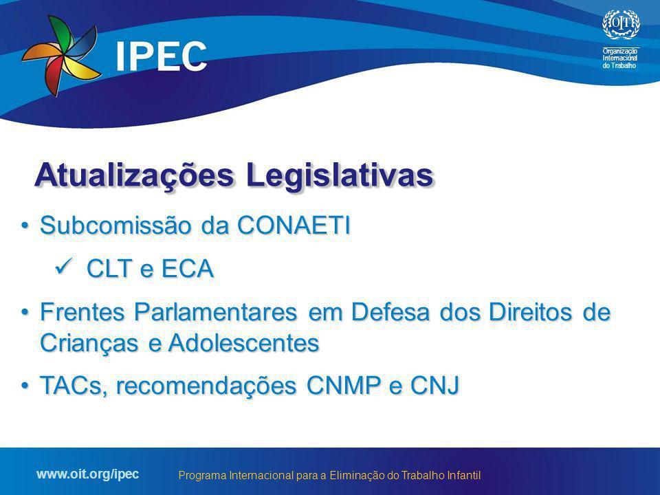 Atualizações Legislativas