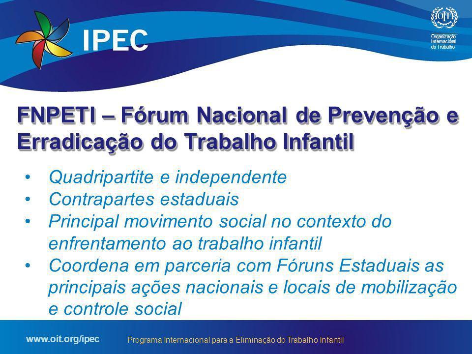 FNPETI – Fórum Nacional de Prevenção e Erradicação do Trabalho Infantil