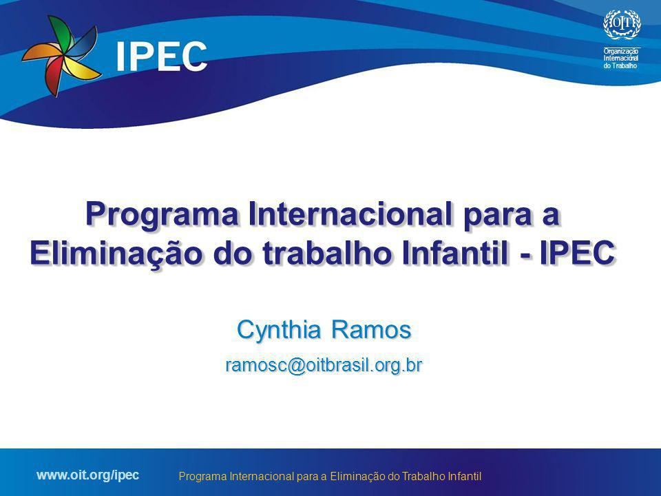 Programa Internacional para a Eliminação do trabalho Infantil - IPEC